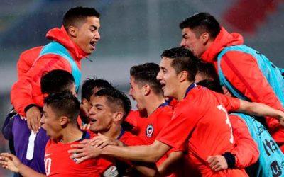 Chile sub 20 jugará amistoso con Brasil en Rancagua