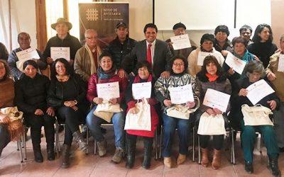 Corfo apoya a Artesanos del Valle de Colchagua