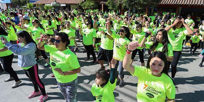 Corrida familiar de Agrosuper reunió a mil participantes en San Vicente de Tagua Tagua