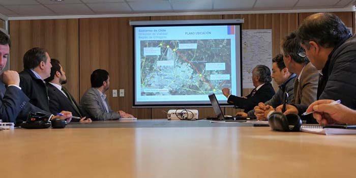 El MOP estudia medidas de conectividad de vías estructurantes de la región