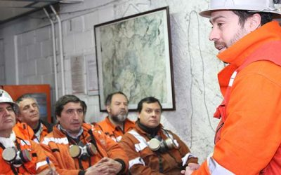 El Teniente habilita panel 2 de mina Esmeralda y accede a importantes recursos mineros
