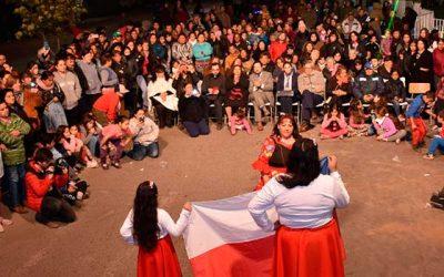 Emotivo y alegre fue el hito de cierre del Barrio Costa del Sol I de Rancagua