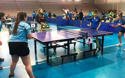 En Rengo comenzó la competencia de Tenis de Mesa en los XXI Juegos Binacionales