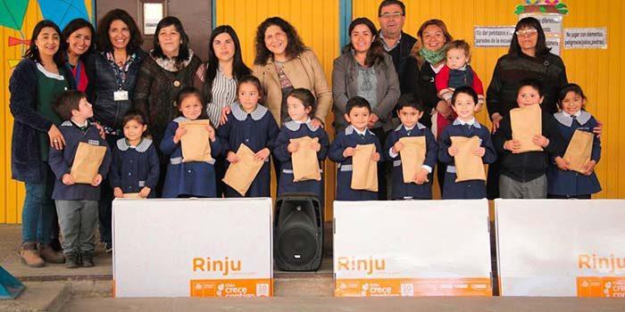 Entregan rincón de juegos a alumnos de escuelas municipales de Palmilla