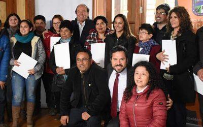 Familias de Nancagua reciben subsidios para mejorar y ampliar sus viviendas