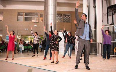 Flashmob de baile Flamenco llega al Hospital Regional en apoyo de campaña contra el Cáncer