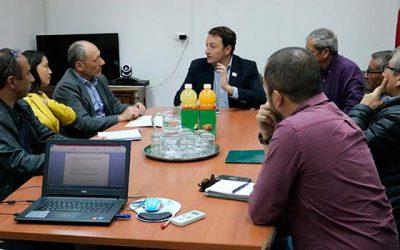 Gobernador sostuvo importante reunión con hidroeléctricas del río Tinguiririca
