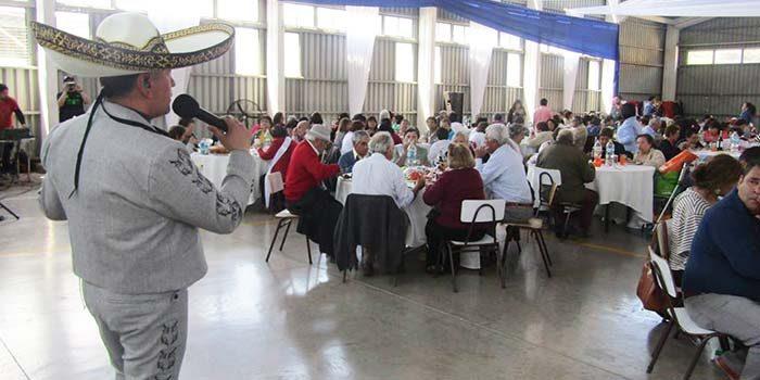 Gran celebración del día del adulto mayor de Palmilla