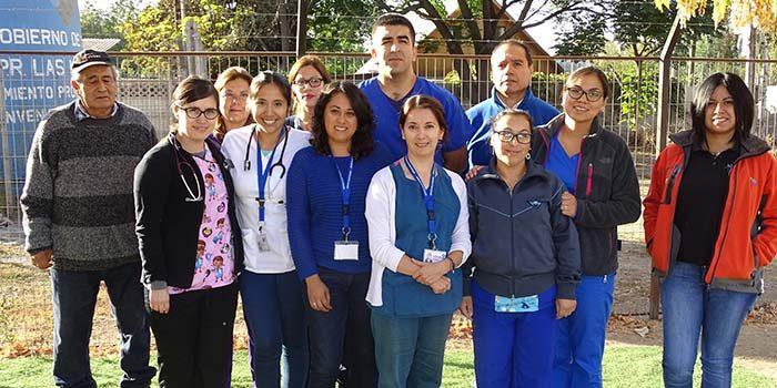 Hospital Coinco realiza catastro de usuarios en sectores rurales de la comuna
