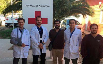 Hospital de Pichidegua remodela espacio para visitas de hospitalizados