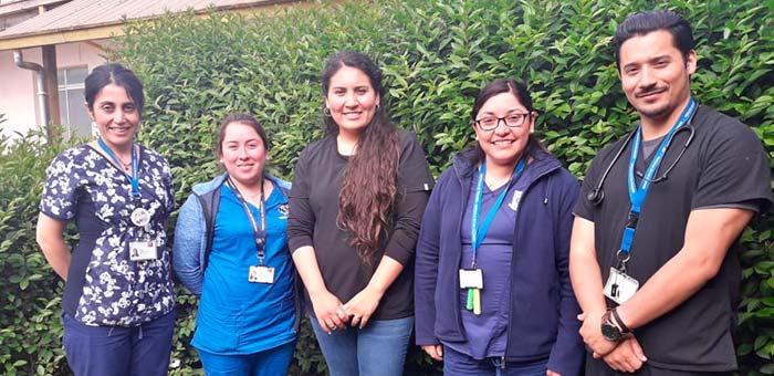 Hospital de Pichilemu realiza un acompañamiento al paciente terminal y su familia