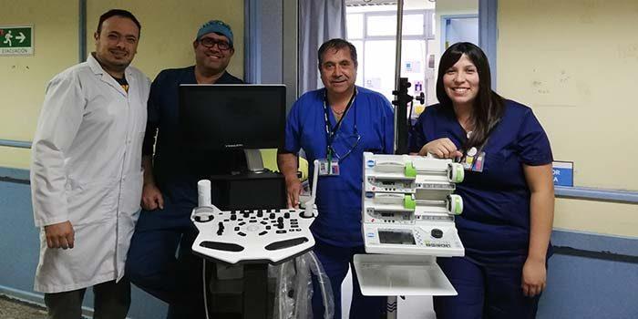 Hospital de San Vicente implementa sistema de Anestesia Total Intravenosa