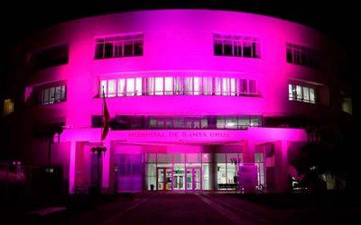 Hospital de Santa Cruz se suma a campaña de prevención del cáncer de mama