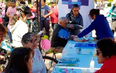 Hospital Graneros se sumó a conmemoración del Día del Cáncer de Mama