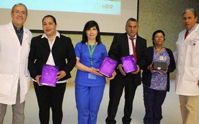 Hospital Regional homenajea a funcionarios por 30 años de servicio