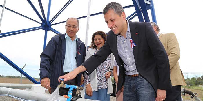 Inauguran anhelado sistema de Agua Potable Rural en Palmilla