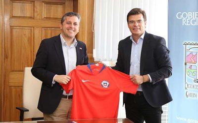 Intendente anuncia que gobierno regional apoyará realización del Sudamericano Sub 20