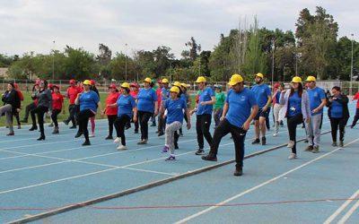 IV Olimpiadas de la Amistad congregaron a usuarios de hospitales de Rancagua y San Fernando