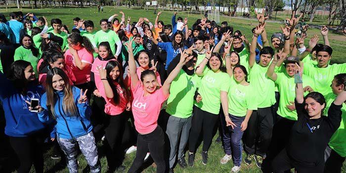 Juegos Deportivos Escolares UOH contagiaron de energía positiva a estudiantes de San Fernando
