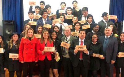 Lanzamiento del programa Cambia el foco beneficia a colegios municipales de la región