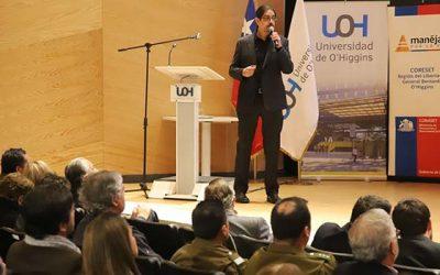 Los cambios que traerá la Ley de Convivencia Vial se discutió en seminario realizado en la UOH