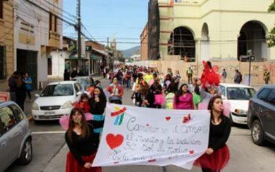 Masivo carnaval de Integra en San Fernando
