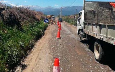 MOP cumple promesa del 2013 en Ruta H-65 Popeta-Las Nieves de Rengo