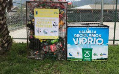 Palmilla ejemplo de reciclaje en la región
