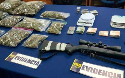 PDI de Rancagua detiene dos sujetos que abastecían de marihuana a microtraficantes