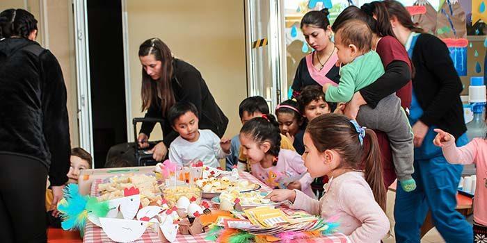 Pequeños del jardín Infantil Arco Iris del Hospital Regional disfrutaron en Feria Saludable