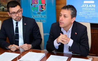 Presupuesto de la Región tiene aumento del 3,7% y llega a $65.000 millones para 2019