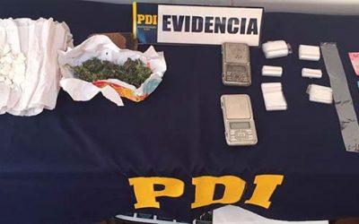 Primos se dedicaban a vender drogas en Pichilemu