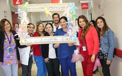 Salud Machalí conmemora el mes mundial contra el cáncer de mamas difundiendo la mamografía y el autoexamen
