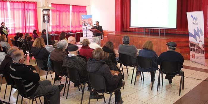 Salud Machalí desarrolló jornada educativa sobre Demencia en el Adulto Mayor