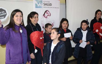 Salud Machalí impulsa estilos de vida saludables en alumnos del colegio Gabriela Mistral
