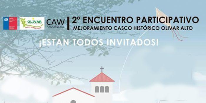 Segunda participación ciudadana para el mejoramiento del casco histórico de Olivar