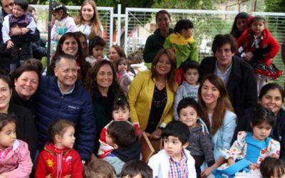 Subsecretaria de educación parvularia visita jardín Integra de Mostazal
