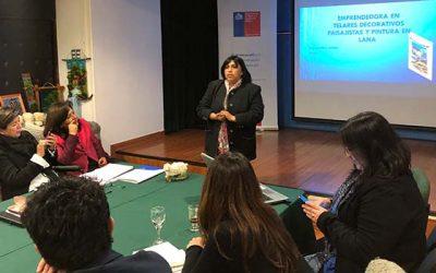 Taller de capacitación en torno al valor del rol de las mujeres en el desarrollo territorial