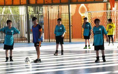Vecinos de Población Pablo Neruda ya cuentan con su multicancha para hacer deportes