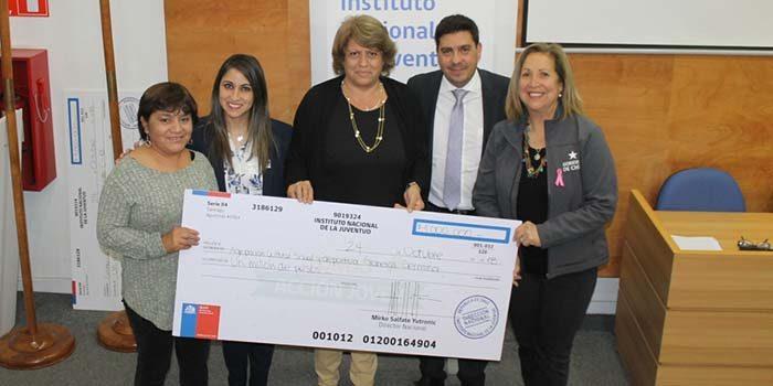 16 organizaciones juveniles de la Región se adjudican fondos concursables Participa Dos del Injuv