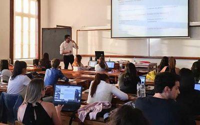 Académico UOH imparte seminarios doctorales en universidades de Portugal y España