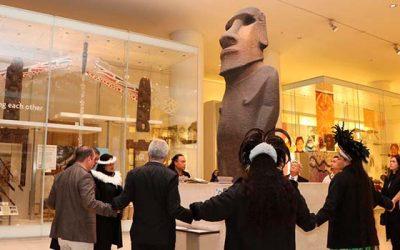 Comunidad Rapa Nui se reúne por primera vez con Museo Británico