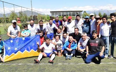 Corte de Apelaciones de Rancagua realiza campeonato de futbolito en sus 50 años de aniversario