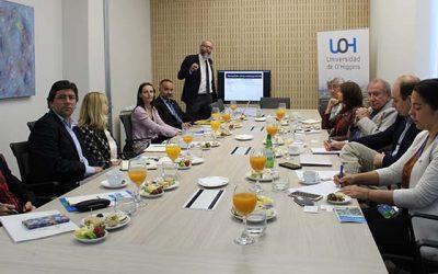 Delegación húngara visita UOH para generar red de investigación sobre cambio climático