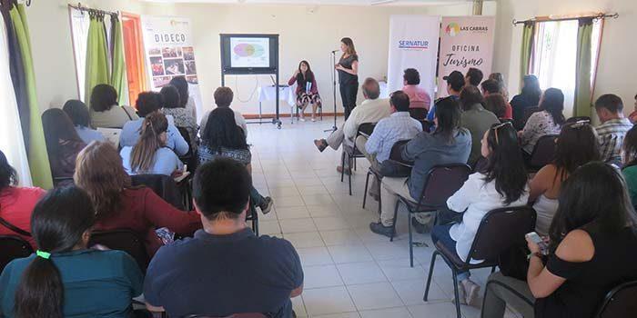 En las Cabras se realiza seminario para fortalecer el desarrollo del turismo rural en la Región