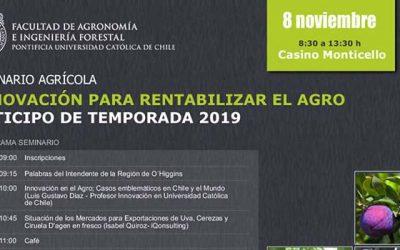 Encuentro regional invita a rentabilizar la agricultura a través de la innovación