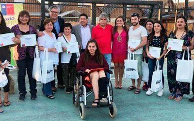 Entrega de ampolletas LED a 300 familias de Rancagua