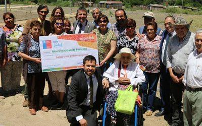 Entregan recursos para construcción de área verde que mejorará la seguridad de familias de Peralillo