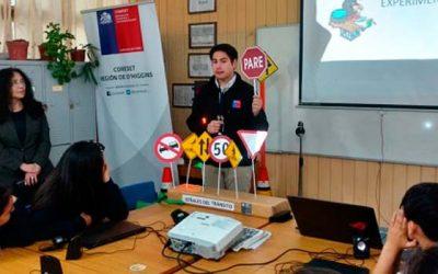 Escolares en Pichidegua conocen la importancia del uso correcto de la bicicleta