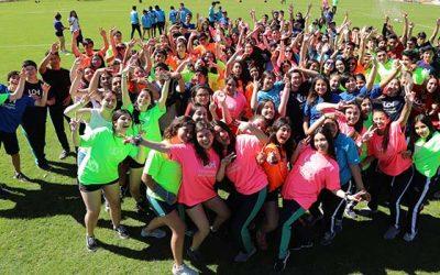 Estudiantes de Santa Cruz se sumaron a la alegría de los Juegos Deportivos Escolares UOH